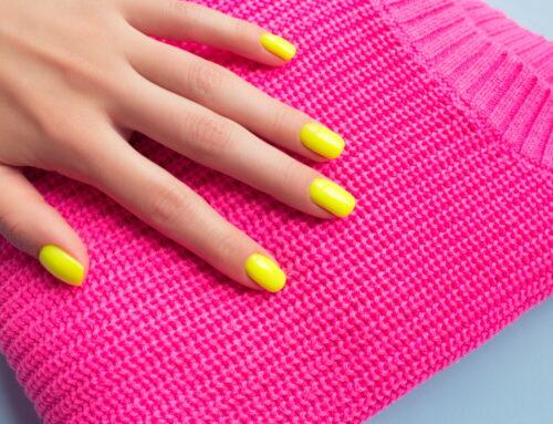 Cum porți corect unghiile neon