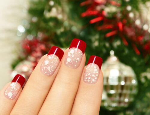 10 modele de unghii de Crăciun pe care să le încerci